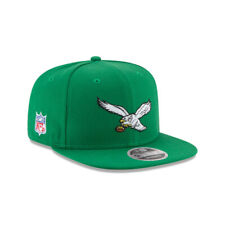Philadelphia Eagles NFL New Era Retro 9FIFTY Snapback Hat - Kelly Green
