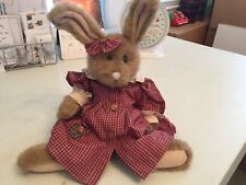 Boyd's Country Gingham Bunny, Body Tag Attached (1985-95)