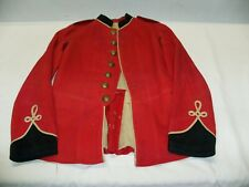 Vintage Pre-WW1 Canadian Militia Scarlet Frock, Amazing and Rare - Gorgeous