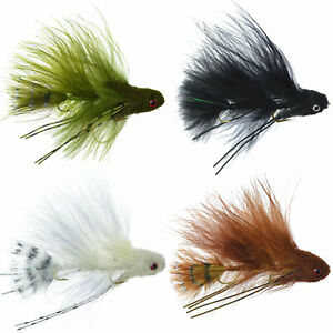 Mini Sex Dungeon Streamer Sampler - Articulated Trout and Bass Fly Fishing Flies