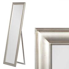 Standspiegel barock Pompös Spiegel Nuri 180x40cm Silber Design Holzrahmen