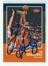 Tim Hardaway Signed 2013/14 Fleer Card #13