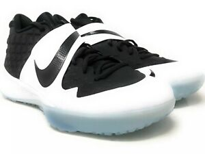 Nike Force Zoom Trout 6 Turf Men's Baseball Shoes Size 12.5 Black/White