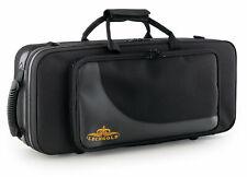 Stabiler, leichter Koffer mit Rucksack-Gurten für Alt-Saxophon und viel Zubehör
