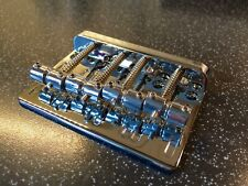 Bass Bridge, 4 string heavy chrome from Warman Guitars