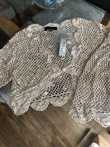 crochet bolero shrug/cardigan