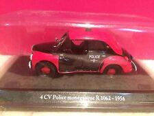 ELIGOR SUPERBE RENAULT 4CV POLICE MONEGASQUE R1062 1/43 NEUF SOUS BLISTER H5