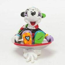 Mickey In Disc Sled Mini Romero Britto Walt Disney Sammelfigur Pop Art 4046358