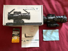 VORTEX SPITFIRE 3X SCOPE WITH RED AND GREEN DOT NIB