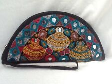 New - Embroidered Wristlet / Purse