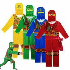 Jungen Ninjago Kai Jay Lloyd Einteiler Kostüm Kinder Bodysuit Cosploy OveralI