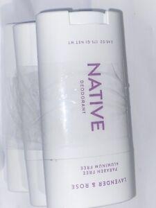 3 Pack - Native Deodorant Paraben & Aluminum Free - 2.65 oz / 75 g each