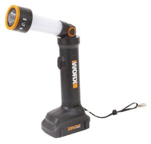 WORX WX027L 20V MaxLithium Cordless Multi-Function LED Flashlight TOOL KIT