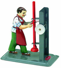 Wilesco M 75 Tin Toy Press Operator Live Steam Engine Shipped from USA