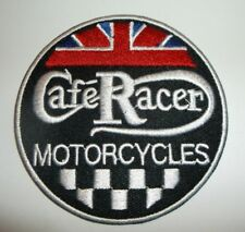 "Triumph Motorcycle Cafe Racer Biker British Embroidered Patch~3 1/16""~Iron Sew"