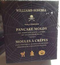 Williams Sonoma Halloween Ghost Cat Jack O Lantern Pumpkin Pancake Mold New