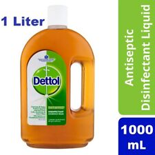 "Large 1000 ml Dettol liquid Anti bacterial "" The Best first Aid Detol antiseptic"