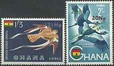 Timbres Oiseaux Ghana PA13/4 ** lot 1983