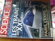 µ?. Revue Science & Vie HS n°16 Les trains du XXIe siecle Ferroutage