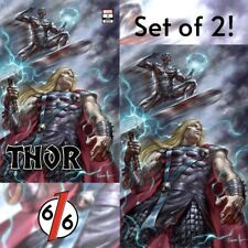 🚨🔨⚡️ THOR #8 LUCIO PARRILLO SET OF 2 EXCLUSIVE Variants Knull King In Black