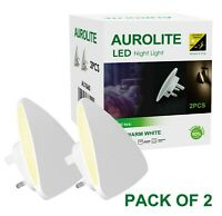 AUROLITE LED Night Light, Dusk to Dawn Sensor, 3000K Warm White