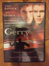 Gerry (DVD, 2003) Rare!  Matt Damon Casey Affleck Free Shipping in Canada!