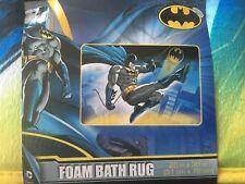Batman Gotham Saved Foam Bath Rug 20x30 new