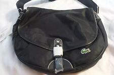 **NEW LOWER PRICE** Authentic Lacoste Purse Satchel Midnight Black NWT New