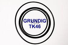 COURROIES SET GRUNDIG TK 46 MAGNETOPHONE A BANDE EXTRA FORT NEUF FABRIQUE TK46