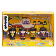 Fisher-Price GJD61 The Beatles Yellow Submarine by Little People Children Play Toy