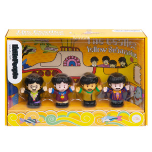 The Beatles Yellow Submarine Little People Collector Set Fisher-Price