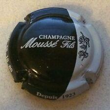 Capsule de champagne MOUSSE Fils (7a. Noir et blanc)