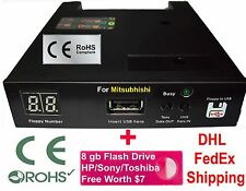 Floppy Drive to USB Converter Emulator for Mitsubhishi EDM FX 10