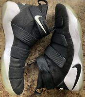 NIKE LEBRON SOLDIER XI TB SZ 13 BLACK/WHITE 943155-003 BASKETBALL