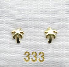 Ohrstecker Damen Ohrringe Kinder Palme 333 Gold NEU