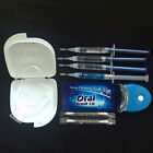 Dental 3pcs Teeth Whitening Anti-allergy Gel Whitelight Bleaching System Kit