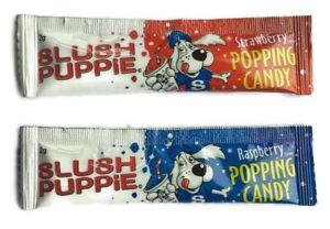 15 x Slush Puppy Popping Candy - Sweets Birthday Party Bag Fillers Retro Reward
