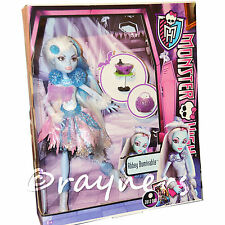 Monster High Abbey Bominable Ghouls Ghoul's Rule Muñeca (2012 cajas de menta, raro)