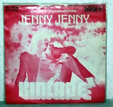 "7"" Vinyl KINCADE - Jenny Jenny (Deutsche Originalaufnahme)"