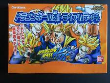 Carte Dragon Ball Z DBZ Miracle Battle Carddass #Trial Promo Deck NEUF 2014