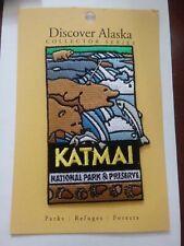 Katmai National Park Preserve Patch New Discover Alaska Brown Bears