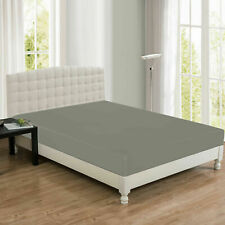 Extra Deep Fitted Sheet With Elastic Bed Sheets For Bedroom Mattress Double Size