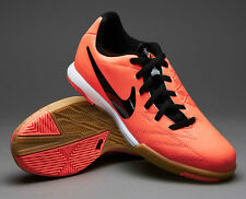 NIKE TOTAL 90 SHOOT IV IC INDOOR SOCCER SHOES FOOTBALL Mango/Black