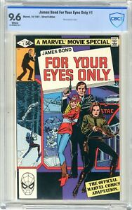 For Your Eyes Only  # 2  CBCS  9.6  White pgs  10/81   Movie adaptation begins