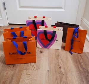 Louis Vuitton Small Gift Bags   Set Of 6