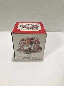 New in Box The Americana Collection Pony Express Station