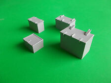 Set di 4 Armadietti (L). modello di barca di raccordi.