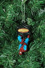 Spiderman Action Christmas Ornament