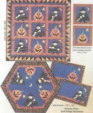 Mystic Witch paper piecing quilt pattern by Marjorie Rhine of Quilt Design NW