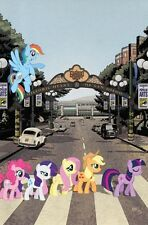2013 SDCC MY LITTLE PONY FRIENDSHIP IS MAGIC #9 ABBEY ROAD VARIANT COVER COMIC